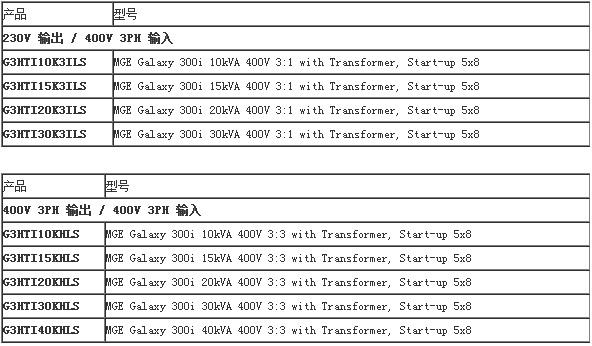 APCGalaxy300|G3HTI10K3ILS|20K3|30K3