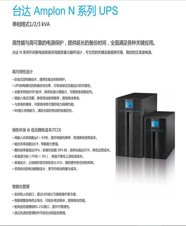 台达N+1-3K(Amplon)