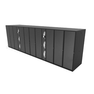 冷通道单排机柜微模块