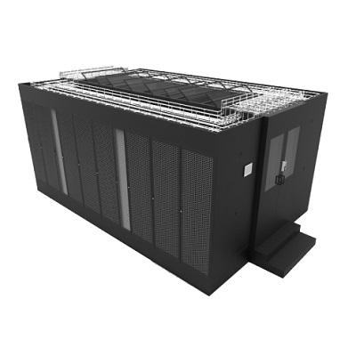 冷通道双排机柜微模块