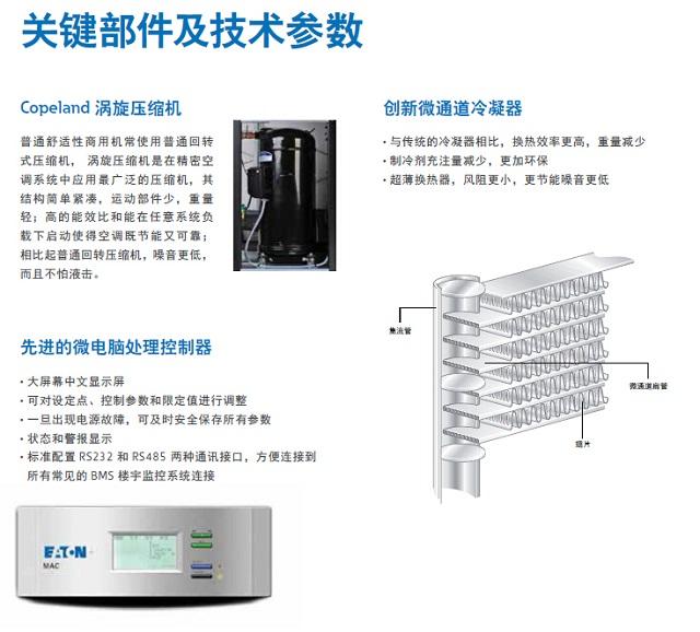 伊顿机房空调MAC系列专用
