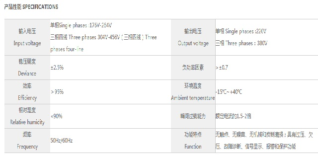鸣川DJW/SJW系列精密净化交流稳压器