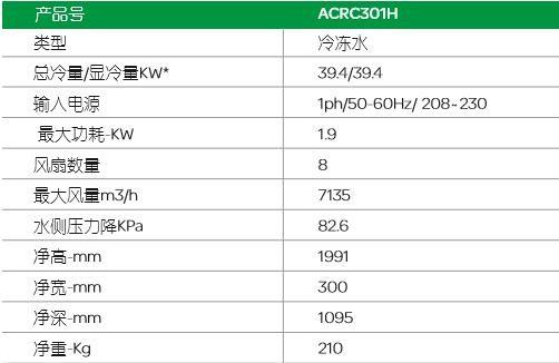 施耐德机房空调ACRC301H(60KW)