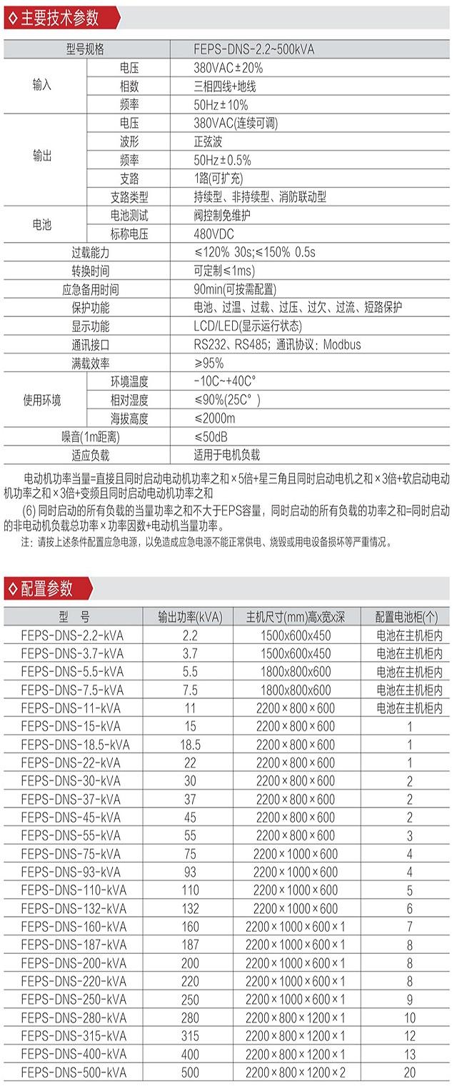迪能FEPS-DNS系列消防设备混合动力应急12博12betEPS