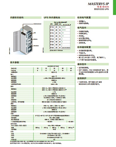 索克曼工频机IP系列10-40KVA UPS12博12bet