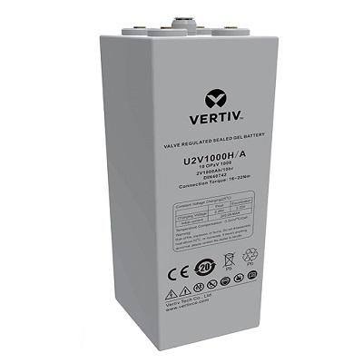 维谛蓄电池H系列2V阀控