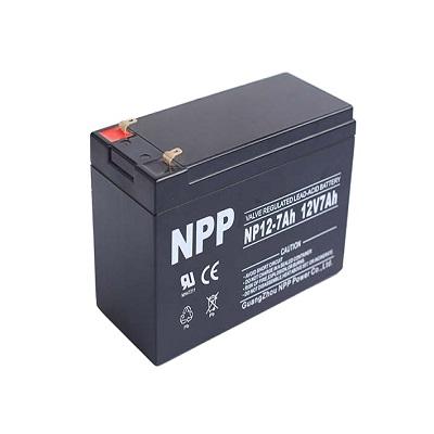 无锡耐普蓄电池代理NP12-75AH 放电率比较科学NPP电池详细技术参数