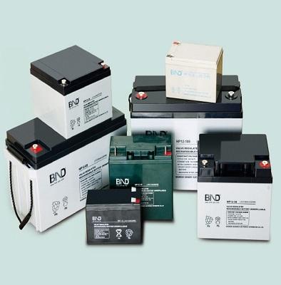 百纳BND德蓄电池12V系